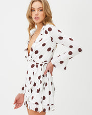Desert Storm Wrap Dress