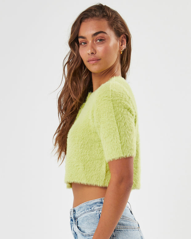 Green Envy Lily Knit