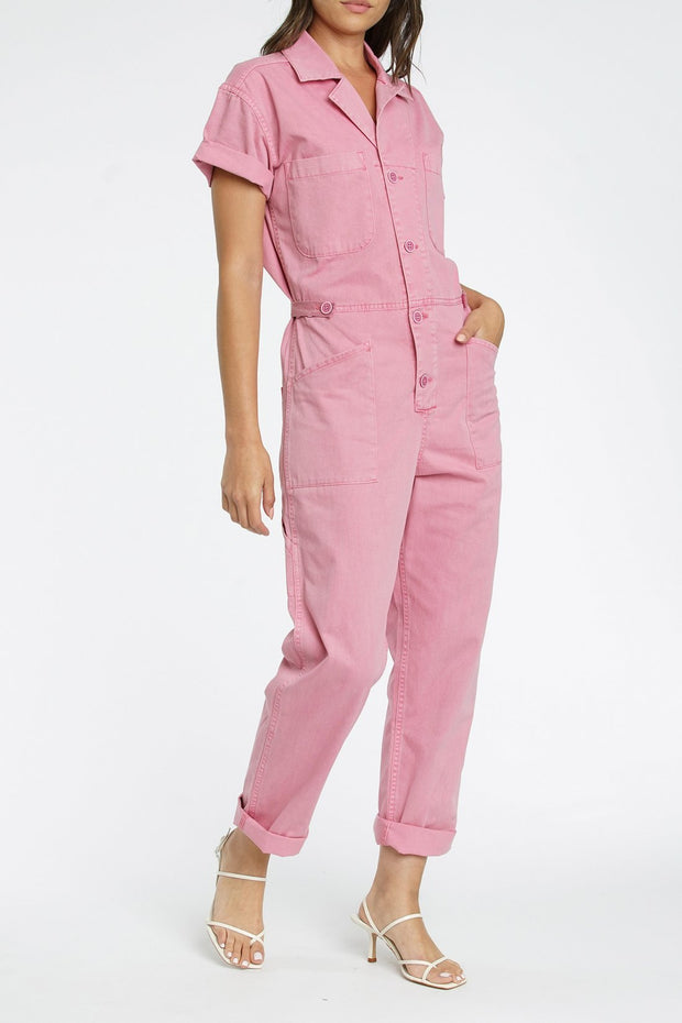 Grover Jumpsuit Flamingo
