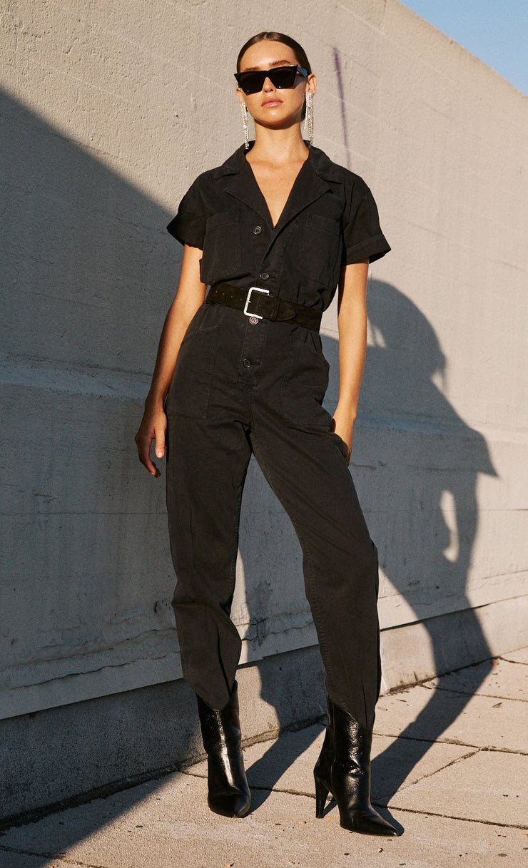 Grover Jumpsuit Black