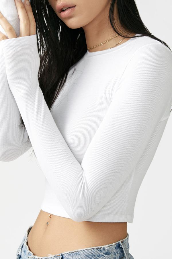 Sofia Long Sleeve White