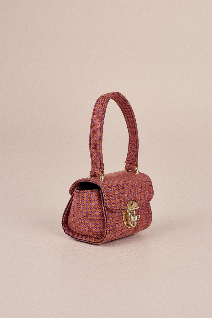 Houndstooth Mini Bag