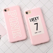 Cool !! lucky 7  Soft TPU Rubber  Silicone Case For iPhone