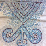 Deconstructed Antique Afgani Hand Embroidered Sleeves - A Pair