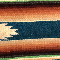 Lovely Old Fine Wool Mexican Saltillo Runner