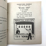 Fun, Rare, The Pastime Digest Vol. 4, c. 1940s Salvation Army Activities Book
