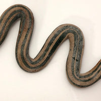 Cool Old Green Striped Snake