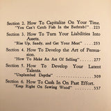 "First Edition ""Developing Sales Techniques and Personality"" by Dave Colcord"