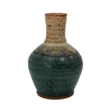 Hand-thrown Stoneware Vase by Jeff Brown, Northwood Pottery Studio, New Hampshire