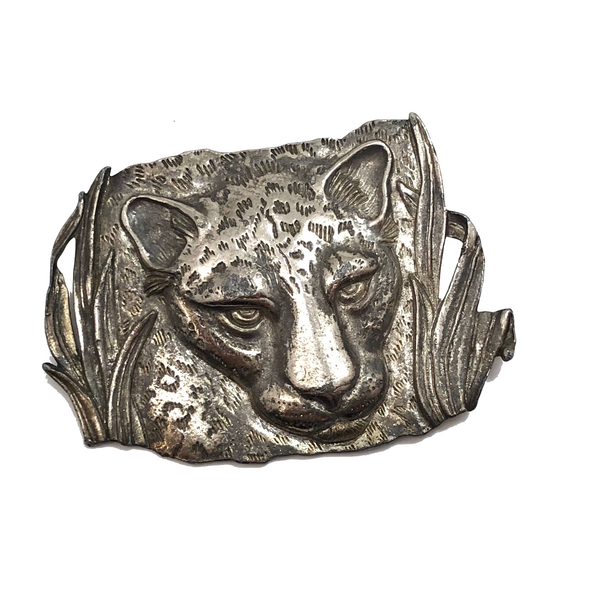 JJ Pewter Cheetah Pin