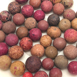 Old Clay Marbles - Lots of Pinks!