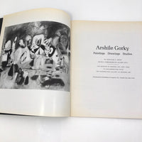 Arshille Gorky Museum of Modern Art First Edition 1962 Catalogue