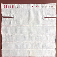 Early 20th Century Dutch School Sampler with Seam and Button Work