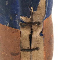 Painted Cardboard Candy Container Man, Presumed c. 1920s German