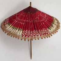Origami Parasol Made with Winston Cigarette Packs