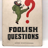 Don't Ask Foolish Questions 1907 M.T. Sheahan Boston Antique Postcard
