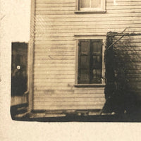 Old Wooden House, Hagerstown MD 1911 Real Photo Postcard