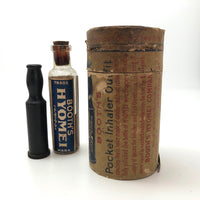Booth's Hyomet Breathing Treatment Antique Medicinal Kit