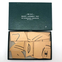 WISC (Wechsler Intelligence Scale for Children) 1949 Object Assembly Test Puzzle: Face