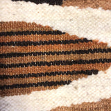 Handwoven Vintage Ecuadorian Tapestry or Rug with Fish Pattern