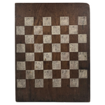 Beautiful Double-Sided Antique Walnut Make Do Gameboard