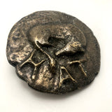 Italian Cast Bronze Large Ancient Coin Paperweight