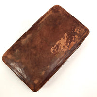 Beautifully Worn Old Leather Box