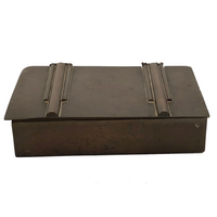 Antique Copper Box with Art Deco Details
