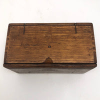 Oak Accordian Box for Sewing Machine Parts