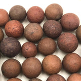 More Beautiful Old Clay Marbles - Set 4