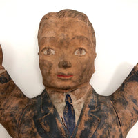 Creepy 1955 Creative Playthings Rubber Suited Man Hand Puppet