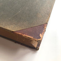 Big Old Leather Bound Ledger, Largely Unused