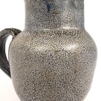 Wonderful Signed Studio Pottery Pitcher with Interesting Mottled Glaze