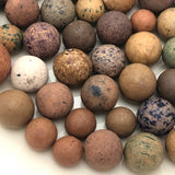 More Old Clay Marbles! Set One