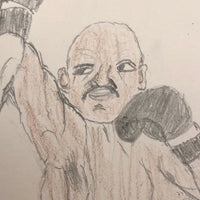 Boxing Match Drawing, Second Batch, Drawing 1
