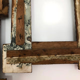 Matching Pair of Antique Tramp Art Frames
