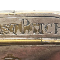 The Last Patch, Wonderful Antique British Patch or Snuff Box