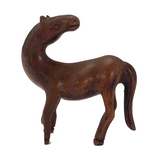RESCUE: Hand-carved Chinese Wooden Horse