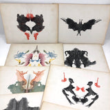 Original 1921 Copyright Rorschach Psychodiagnostics Complete Folio of 10