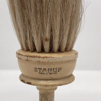 Stanup Vintage Stand Up Horsehair Brush with Painted Wood Handle