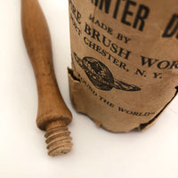 "Empire Brush Works ""Round Painter Duster"" Horsehair Brush"