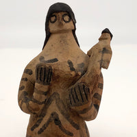 Terra Cotta Woman and Child Fertility Figure