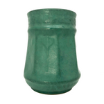 Lovely Matte Green Glazed Early Zanesville Arts and Crafts Vase