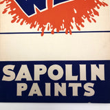 It's Wet! Silkscreen on Cardboard Sapolin Paint Signs