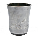 Napier Silver Child's Cup with Animals