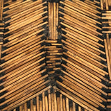 Matchsticks Tramp Art Trivet / Tray / Wall Hanging