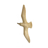 Carved Ivory Seagull Pin / Brooch