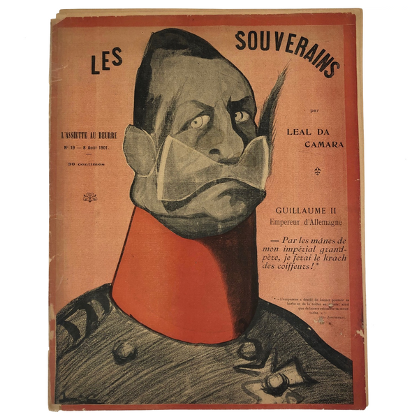 "L'Assiette Au Beurre ""Les Souverains"" (The Sovereigns) August 8, 1901 Edition"