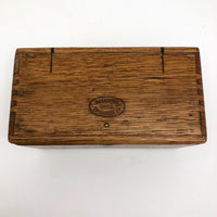 Antique Oak Accordian Box for Sewing Machine Parts #3