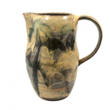 The Perfect Wildflower Pitcher with Painterly Yellow Glazing